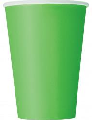 10 muggar i limegrönt - Kalasdukning
