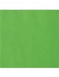 20 limegröna servetter - Kalasdukning