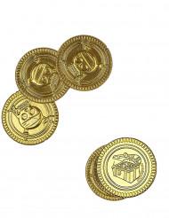 30 guldmynt med dödskalletryck