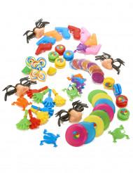 64 Leksaker till fiskdammen eller piñatan