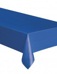 Blå bordsduk av plast 137x274 cm