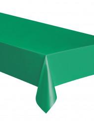 Smaragdgrön rektangulär plastduk