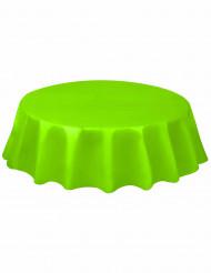 Limegrön bordsdruk i plast - Kalasdukning