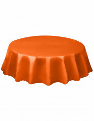 Orange rund plastduk