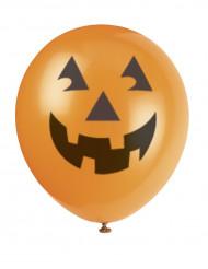 6 Halloweenballonger