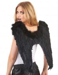 Svarta vingar 55 x 55 cm vuxna