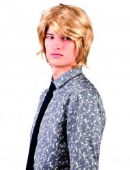 Blond kort peruk vuxna