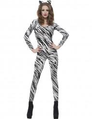 Maskeraddräkt zebra vuxen