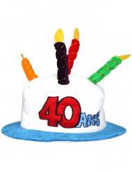 40-Årsmössa vuxen