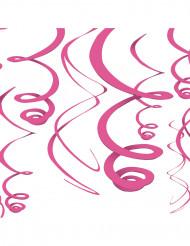 Hängande rosa dekoration