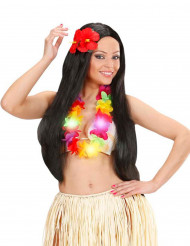 Lysande Hawaiihalsband i flera färger