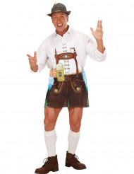 Muntert förkläde - Oktoberfesttillbehör