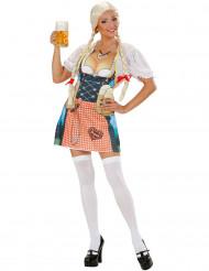 Flörtigt förkläde - Förkläde till Oktoberfest