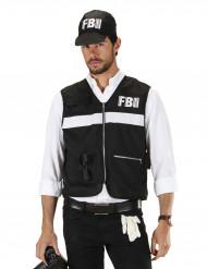 FBI Polis Maskeraddräkt Vuxen