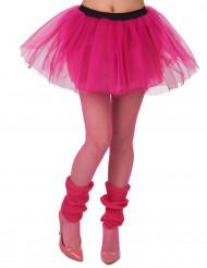 Neonrosa ballerinakjol dam