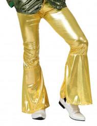 Disco-byxor i guld man