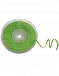 Rulle med dekorativt metallgrönt band