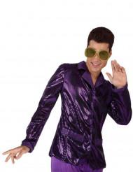 Lila disco jacka
