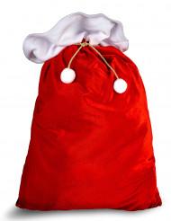 Röd jultomtesäck