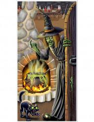 Välkommen till häxan - Dörrdekoration till Halloween