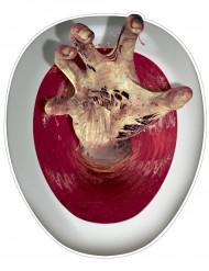 Handen i toaletten - Halloweendekoration