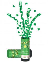 Kanon för gröna konfetti St Patrick