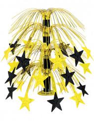 Bordsdekoration svarta och guldfärgade stjärnor