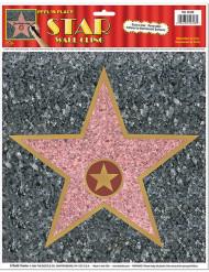Walk of Fame stjärna väggdekoration