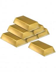 6 falska guldtackor