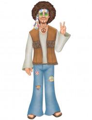 Hippiefigur till temafesten 93,8 cm