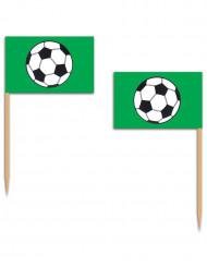 12 Cocktailpinnar med fotboll