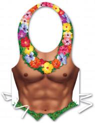 Förkläde med Hawaiiman