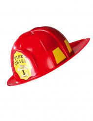 Röd brandmanshjälm vuxna