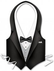Plastförkläde servitör herrar