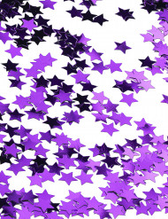 Lila stjärnkonfetti