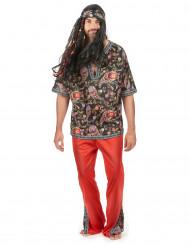 Peaceloving Pete - Hippiedräkt för vuxna till maskeraden