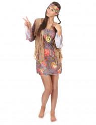 Ängsblomman - Hippiedräkt för vuxna till maskeraden