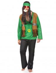 Hippiedräkt Grön Man