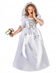 Bröllopsdräkt med slöja barn