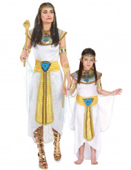 Epytisk drottning och prinsessa - Pardräkt för vuxen och barn