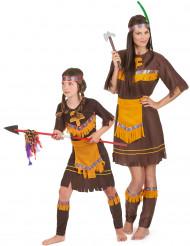 Duo Indianklänningar - Pardräkt för barn och vuxna