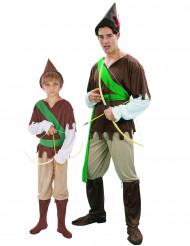 Sherwoodskogens hjältar - Pardräkt för vuxen och barn