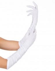 Handskar vita vuxen