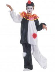 Pierrot Maskeraddräkt Barn