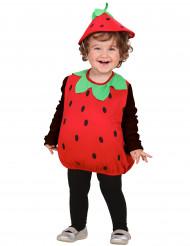 Jordgubbsdräkt för barn