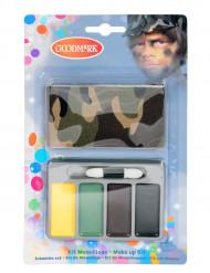 Sminkkit mini militär för barn