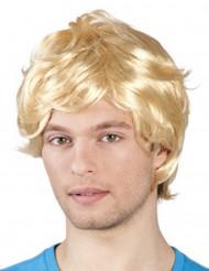 Peruk blond man