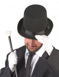 Hög hatt svart vuxen