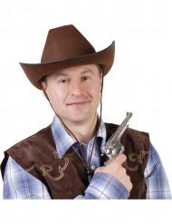 Cowboyhatt brun vuxen