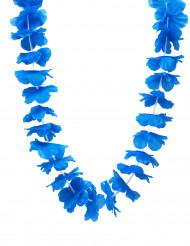 Blått Hawaii-halsband